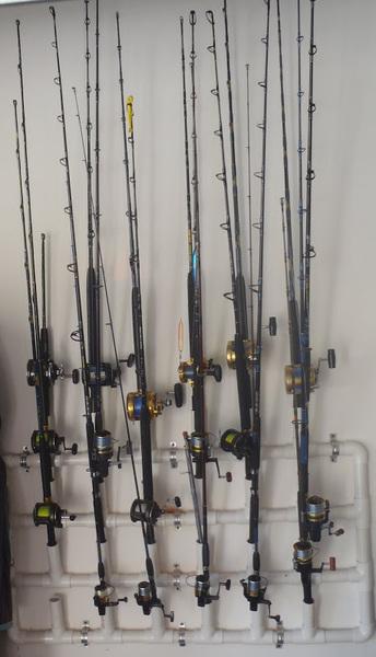 Good Ideas Pvc Fishing Rod Holders Storage Ideas Shrimpnfishflorida Is Florida S Official Anglers Social Networking Community